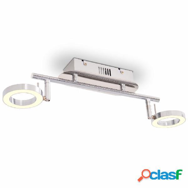 vidaXL Illuminazione LED a Parete/da Soffitto con 2 Luci