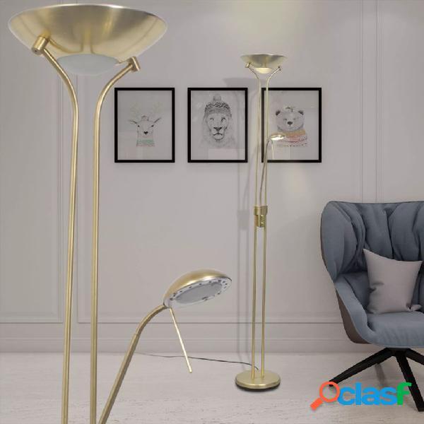 vidaXL Lampada da terra a LED dimmerabile 23 W