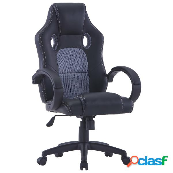 Vidaxl sedia da gaming rossa in similpelle 🥇   Posot Class
