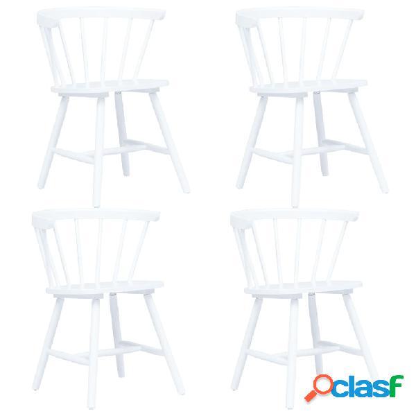 Vidaxl sedie da pranzo 4 pz legno massello </p>                     </div>   <!--bof Product URL --> <!--eof Product URL --> <!--bof Quantity Discounts table --> <!--eof Quantity Discounts table --> </div>                        </dd> <dt class=
