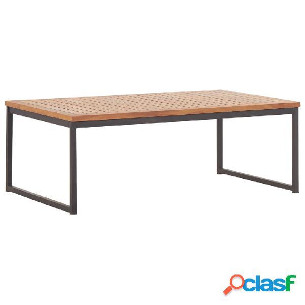vidaXL Tavolino da Caffè 100x60x36cm Legno Massello di