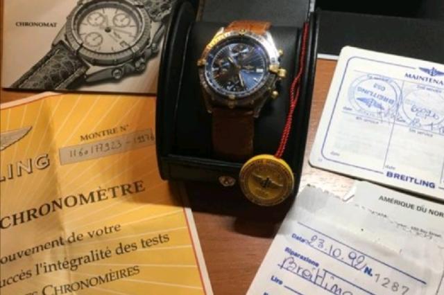 Breitling chronomat  originale