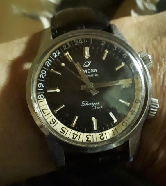 Orologio ENICAR SHERPA JET 600 anni 60