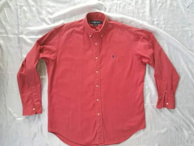 Ralph Lauren camicia uomo Tg XL rosso