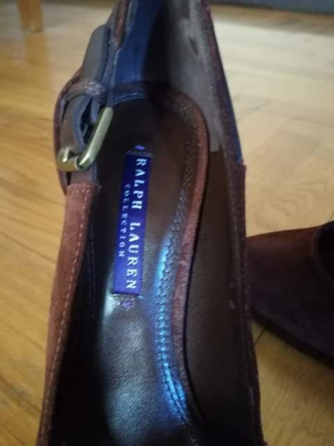 Scarpe Ralph Lauren 37,5 in camoscio Marrone