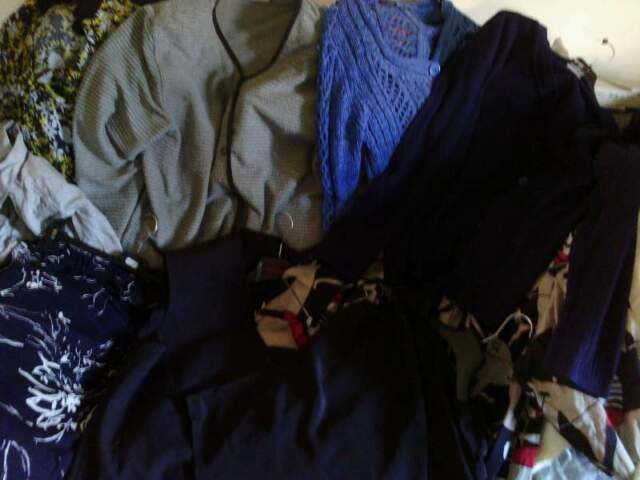 Stock abbigliamento donna usato.
