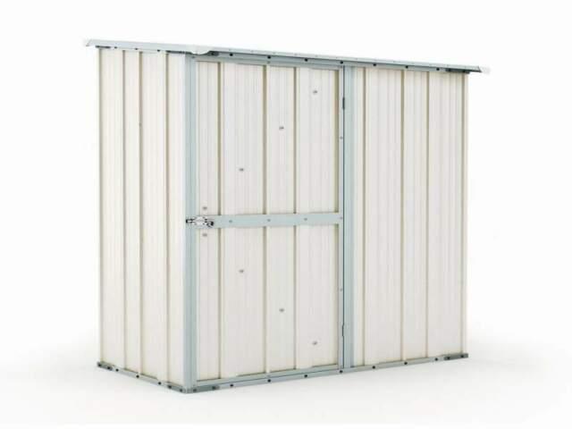 Box casetta giardino in Acciaio 174x100cm bianco