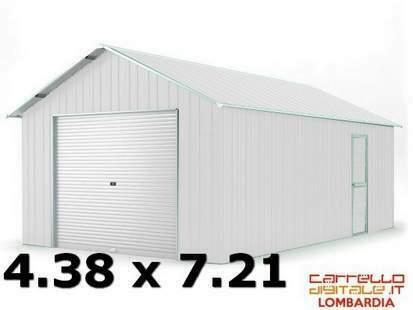 Box garage casetta acciaio lamiera zincata ferro