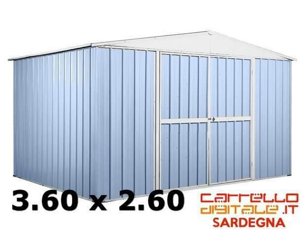 Casetta box garage acciaio lamiera zincata container
