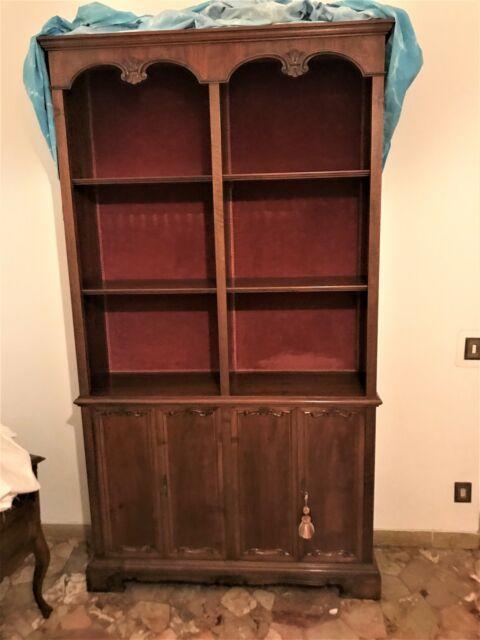 Libreria in legno massello L 119