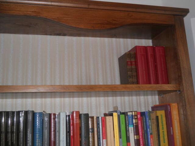 Libreria legno massello 2 ante