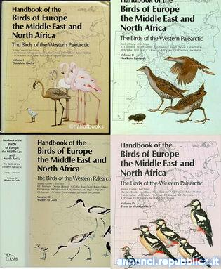 Manuale di Ornitologia BWP - Birds of Europe the Middle East