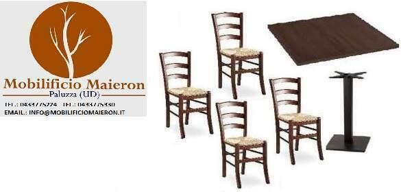 Set Completi Sedie Tavoli Arredo Ristorante Pub Bar nuovi
