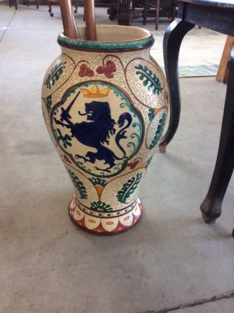 Vaso ceramica Faenza