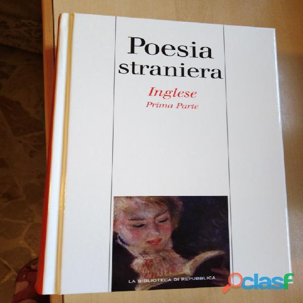 Antologia poesia inglese 2 volumi