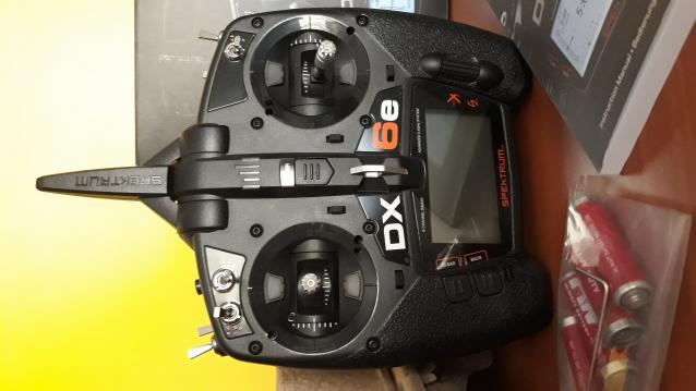 Radiocomando TX Spektrum DX6e