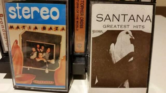 24 cassette originali musica varia