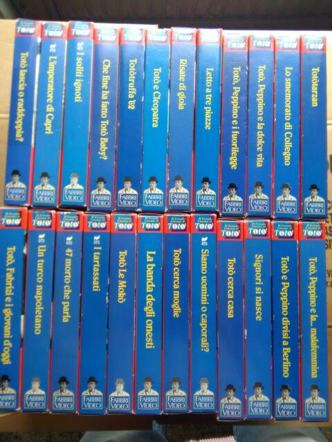 24 videocassette vhs fabbri editori