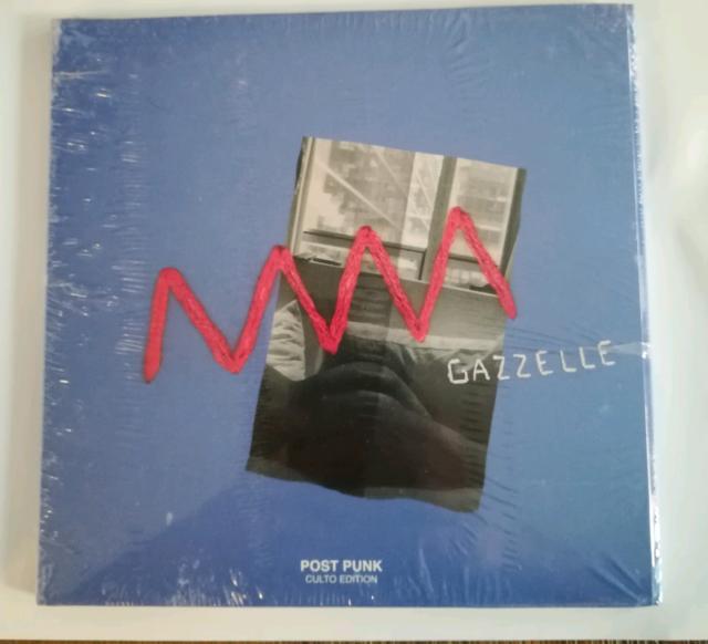 Gazzelle - Post Punk doppio 45 giri autografato edizione