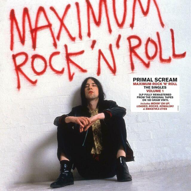 Lp primal scream maximum rock 'n'roll: the singles