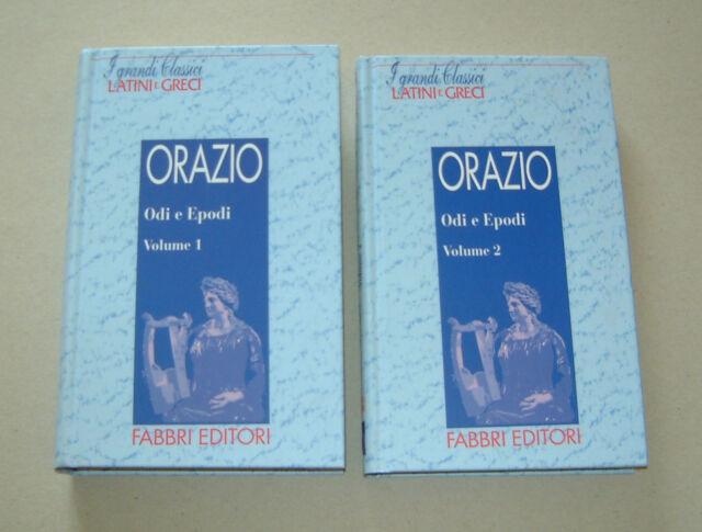 ORAZIO - Odi e Epodi Vol. 1 & 2