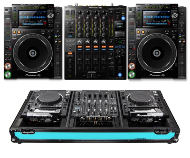 """Pioneer CDJ & 12"""" Mixer DJ Coffin Flight Case CDJ /"""