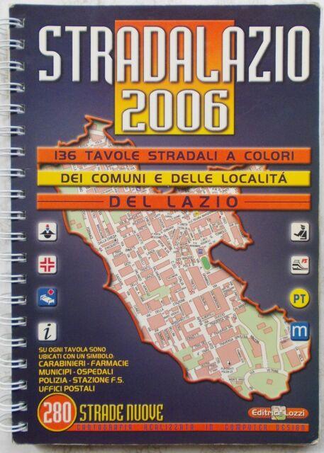 Stradario del Lazio
