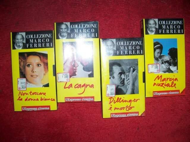 Videocassette VHS d'autore