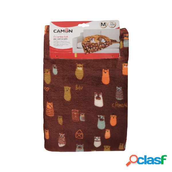 Camon Copertina Soft per cani e gatti 75x100 cm