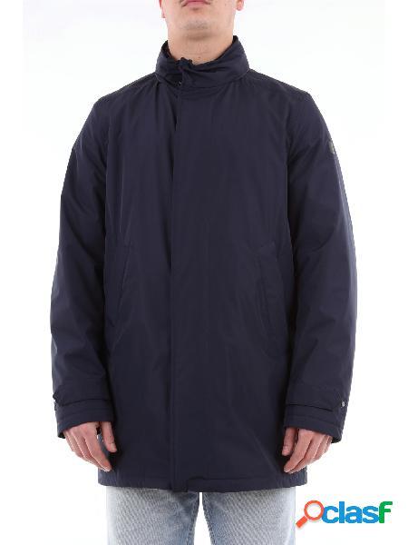 Paul & Shark cappotto in tessuto Typhoon con cappuccio