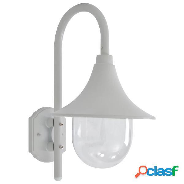 vidaXL Lampada da Parete da Giardino E27 42 cm in Alluminio