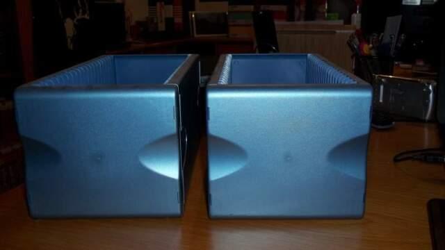 2 Porta CD in metallo