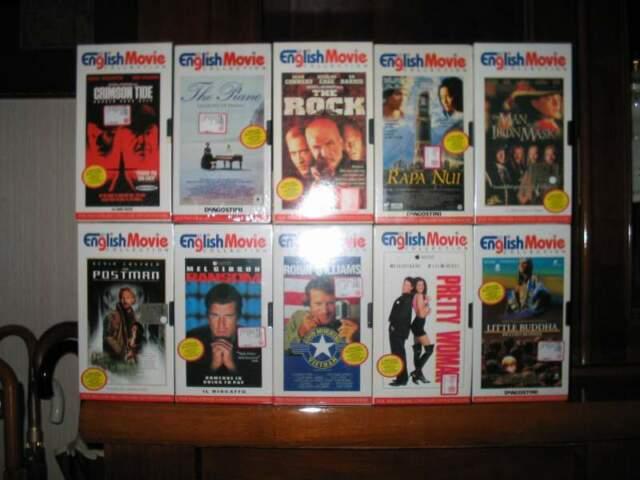 215 cassette VHS con Films+videoregistratore Telefunken