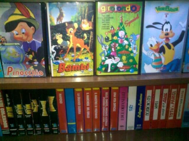 Collezione VHS originali