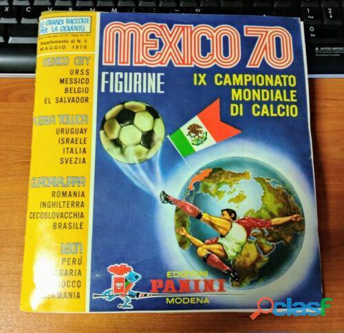 PANINI MEXICO 70 COMPLETO Album Figurine Calciatori