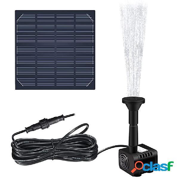 1.2W 180L / H senza spazzola solare Pompa ad acqua per