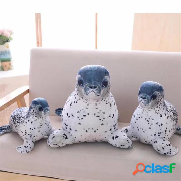 1 PZ 30/40/50/60 CM Soft Sea World Animal Lion Farcito