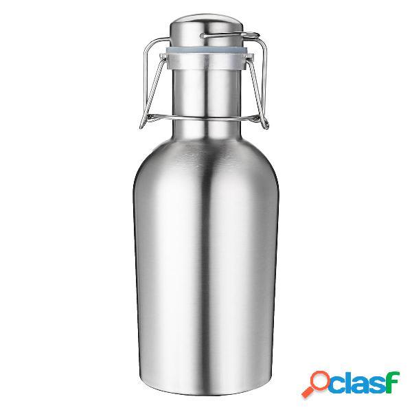 1 litro monostrato in acciaio inox B eer W-ine Bevanda
