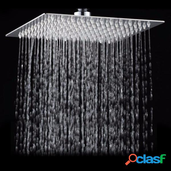 10 Pollici Soffione doccia a soffitto in acciaio inox 304 ad