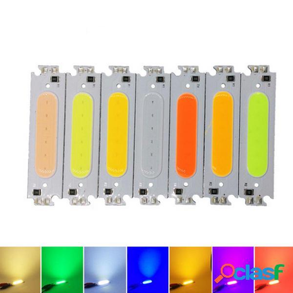 10 pz DC12V 2W COB LED Chip Light Bianco Giallo Arancione