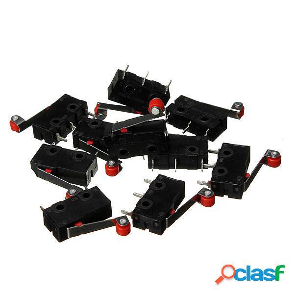 100Pcs Micro finecorsa Con Roller Lever KW12-3 di apertura /
