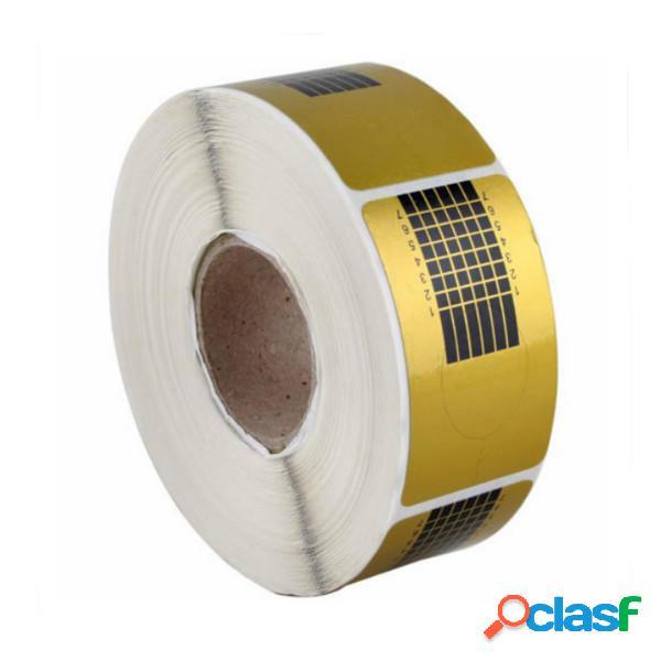 100pcs chiodo professionale adesivi guida forme di