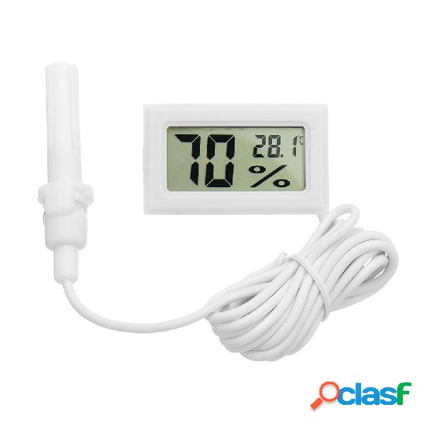 10Pcs Mini LCD Digital Termometro igrometro Frigo Freezer