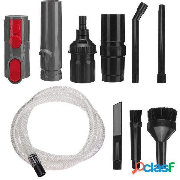 10Pcs Spazzole Kit accessori adattatore per Dyson V7 V8 V10