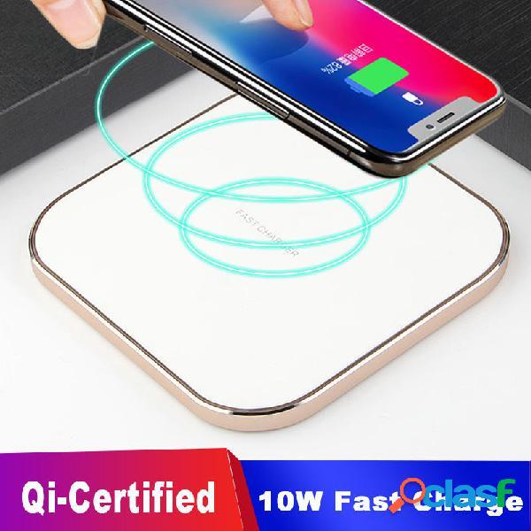 10W Qi Dock di ricarica wireless Ricarica rapida ricevitore