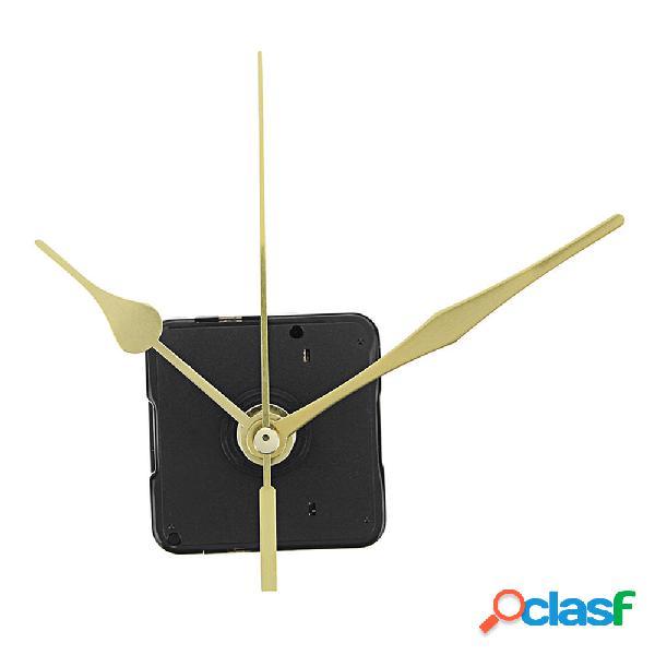 10pcs 20mm albero Lunghezza oro mani orologio da parete al