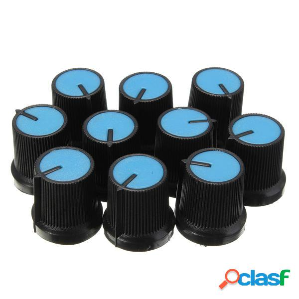 10pz Manopola in Plastica di Regolazione per Potenziometro