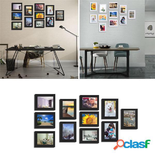 11 pezzi Set di cornici per foto multiple fai da te Immagine