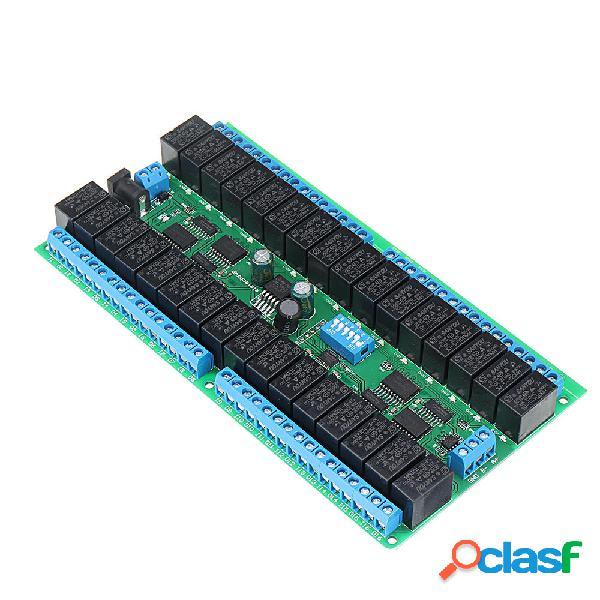 12 V 32 canali CH RS485 relè Modbus protocollo RTU seriale