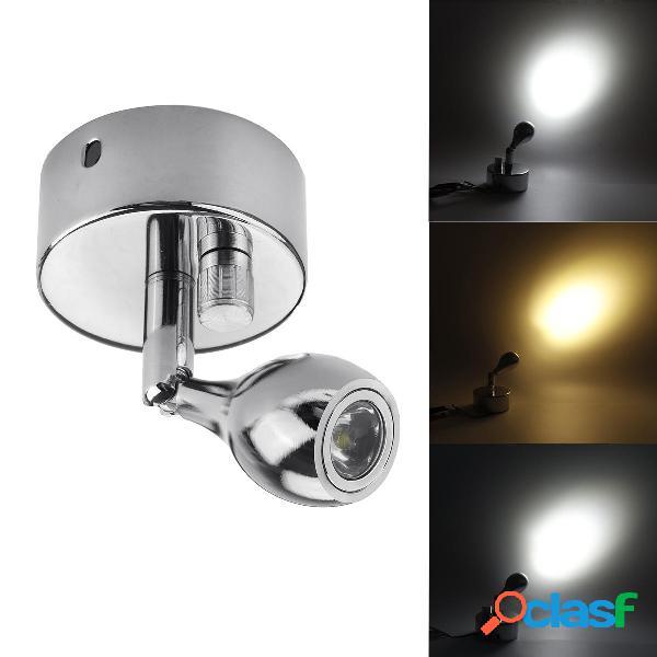 12V 1W oscuramento della parete lampada LED Luce di lettura